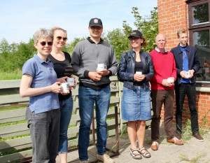 Fv. Rikke og Britt, Claus og Charlotte, Jimmy og Niels Kristian
