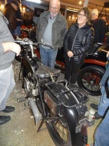 Urestaureret motorcykel