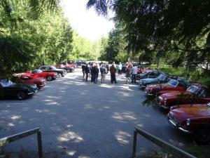 14 fremmødte biler
