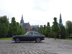 Start fra Frederiksborg Slot i Hillerød